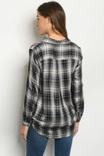 Load image into Gallery viewer, Plaid Fall Top