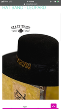Load image into Gallery viewer, Leo Bound Beaded Hatband