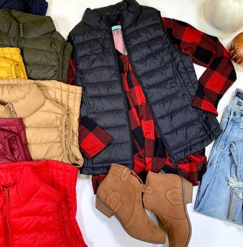 Ultra light puffer vest