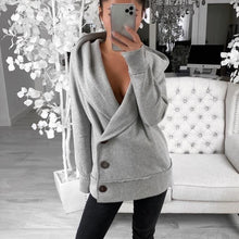 Load image into Gallery viewer, Lauren Sweatshirt Cardi/Coat
