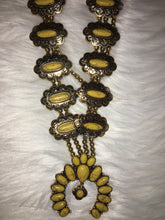 Load image into Gallery viewer, Cheekys Squash Blossom Necklace