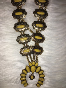 Cheekys Squash Blossom Necklace