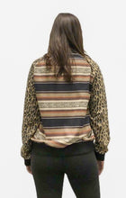 Load image into Gallery viewer, Bonita Suede Bomber Jacket