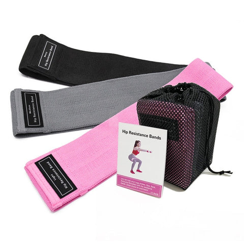 3PCS Yoga Resistance Bands For Fitness
