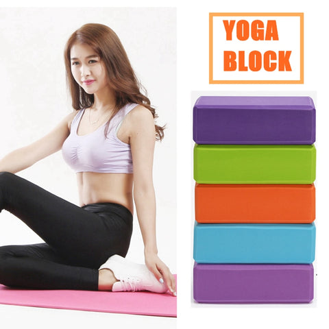 Colorful Foam Block Brick for Crossfit Exercise Workout Equipment