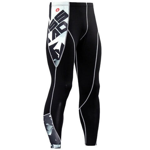 MMA Crossfit Bodybuilding Compression Tights