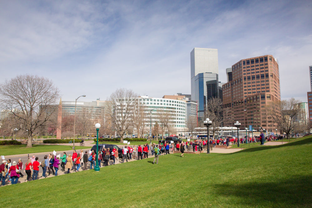 Denver Educator Burglarized While at Rally For Higher Pay
