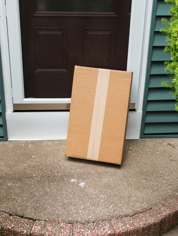 62% Confirm Porch Pirate Plague in New Survey