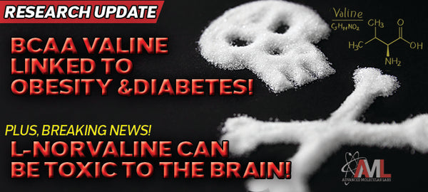BCAA VALINE LINKED TO OBESITY AND DIABETES!