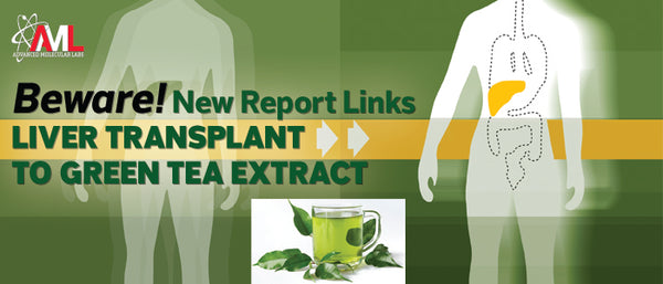 Beware! New Report Links Liver Transplant to Green Tea Extract
