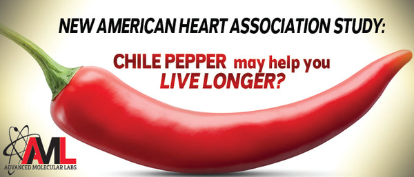 NEW AMERICAN HEART ASSOCIATION STUDY: CHILI PEPPER May Help You LIVE LONGER?