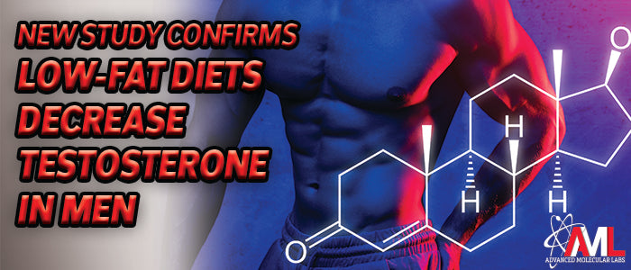 NEW STUDY CONFIRMS THAT LOW-FAT DIETS DECREASE TESTOSTERONE IN MEN!