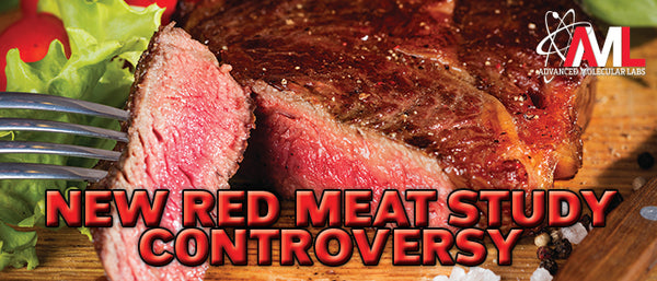 NEW RED MEAT STUDY CONTROVERSY!