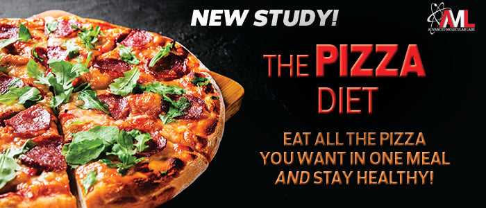 THE PIZZA DIET. Eat All the Pizza You Want in One Meal and Stay Healthy!