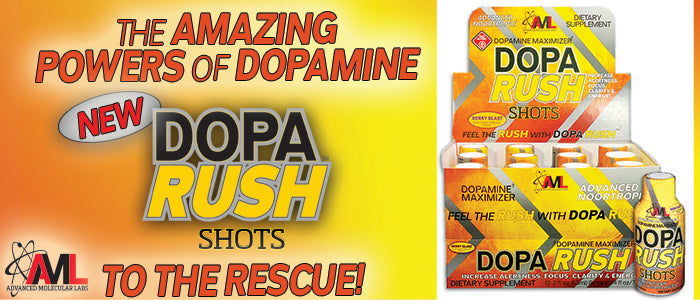 THE AMAZING POWERS OF DOPAMINE: New DopaRush Shots to the Rescue!