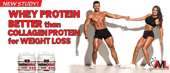 WHEY PROTEIN BETTER THAN COLLAGEN PROTEIN FOR WEIGHT LOSS