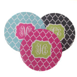Round Mousepad with Monograms