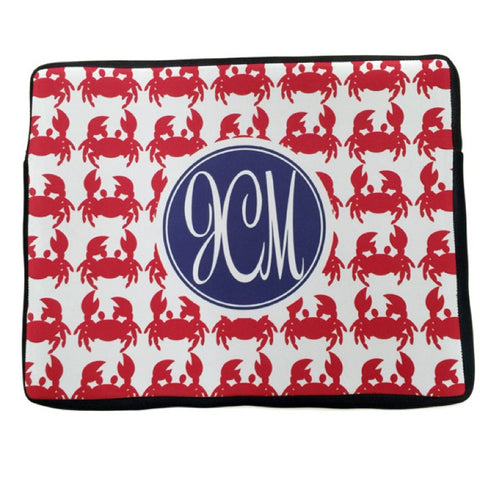 Monogrammed Laptop Case