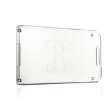 Monogrammed Acrylic Serving Tray