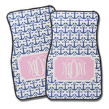 Blue Ancho Pink Monogram Car Carpet Mat