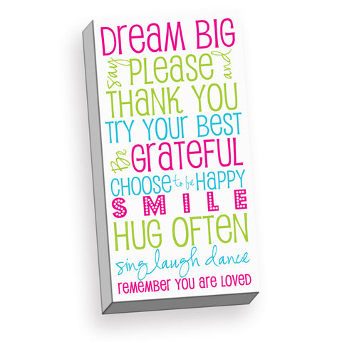 Dream Big Nursery Wall Art