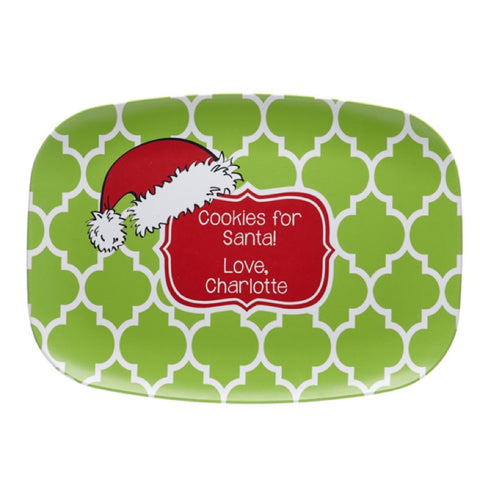 Personalized Christmas Cookie Platter