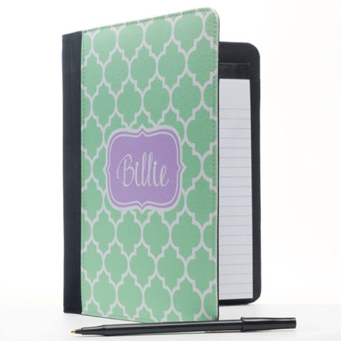 Monogram Notepad Holder