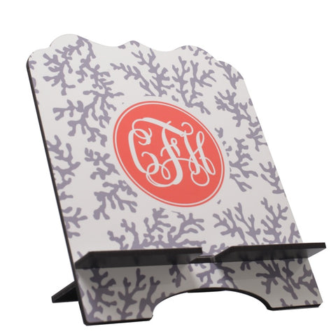 Personalized Cookbook Stand  Tablet Holder