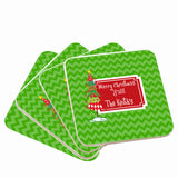 Christmas Coasters Personalized