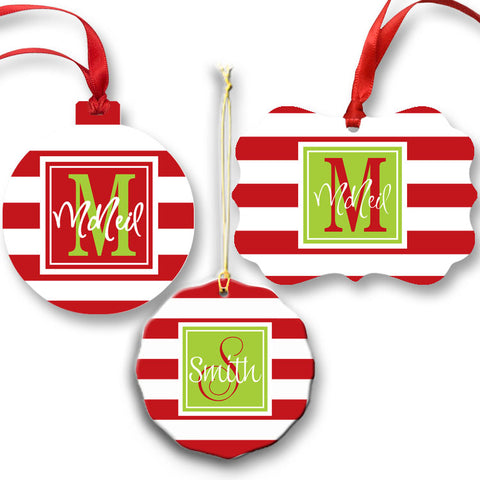 Personalized Name Ornament