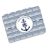 Personalized Baby Anchor Blankets