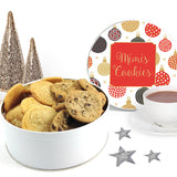 Christmas Baubles Cookie Tin