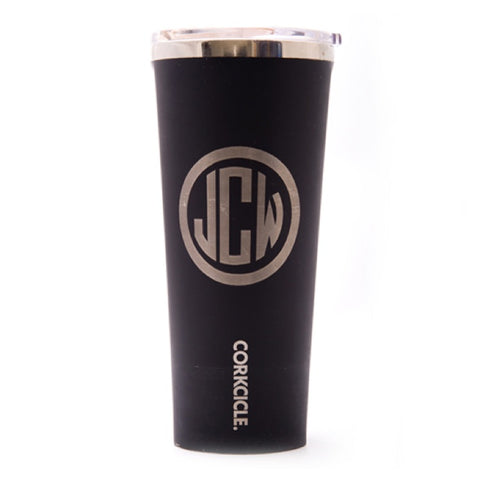 Black Corkcicle Cup Monogram