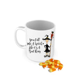 Monogram Witch Mug
