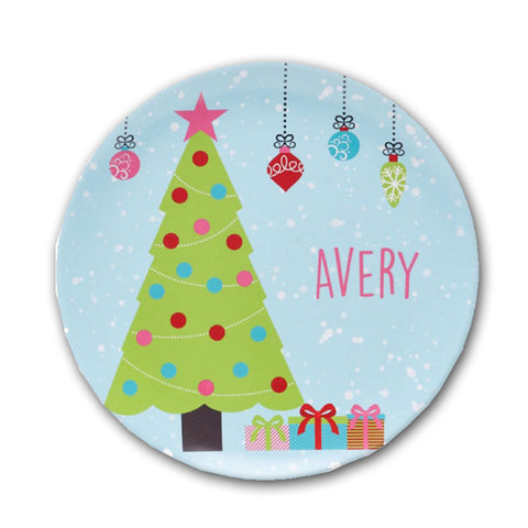Personalized Children's Christmas Plate