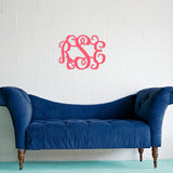 Wood Wall Monogram