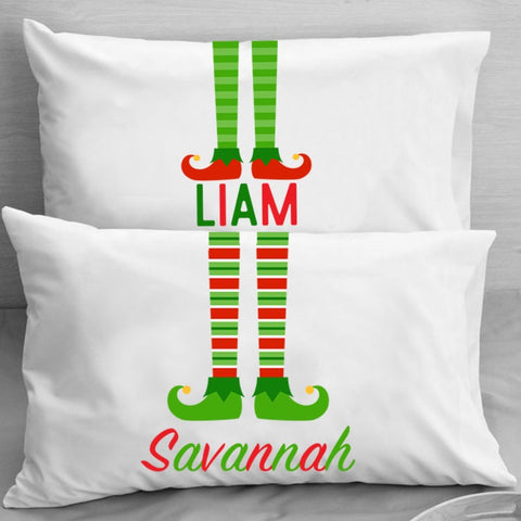 Christmas Elf Pillowcase