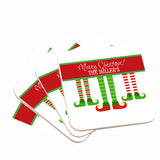 Elf Christmas Drink Coasters