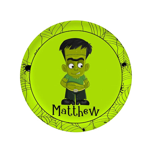 Personalized Frankenstein Plate