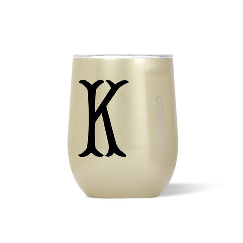 Personalized Glampagne Corkcicle Stemless Wine Tumbler 12 oz