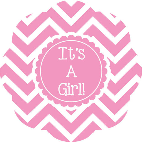 Baby Girl Metal Door Hanger