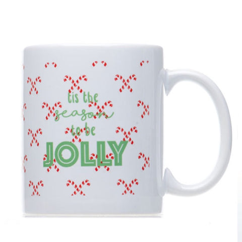 Holly Jolly Coffee Mug