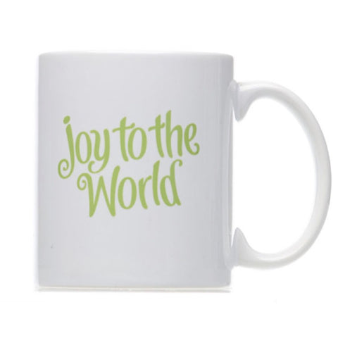 Joy To The Word Chirstmas Coffee Mug