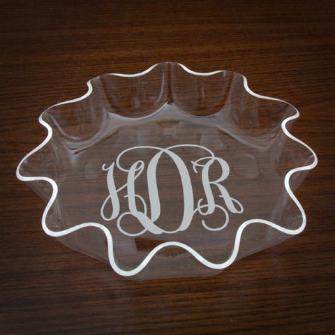 Personalized Acrylic Bowl