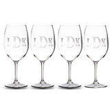 Personalized Acrylic Wine Glasses