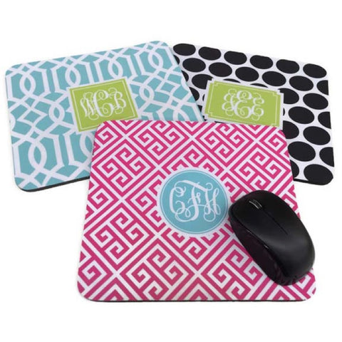 Rectangle Mousepad Monogram