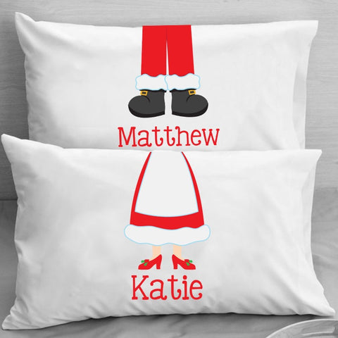 Kids Personalized Christmas Pillowcase