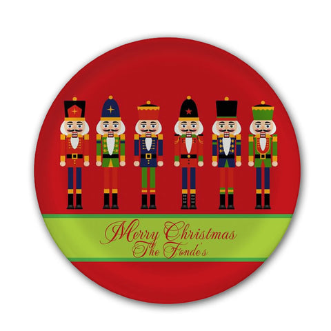 Personalized Nutcracker Christmas Plate