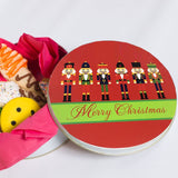 Personalized Nutcracker Cookie Tin