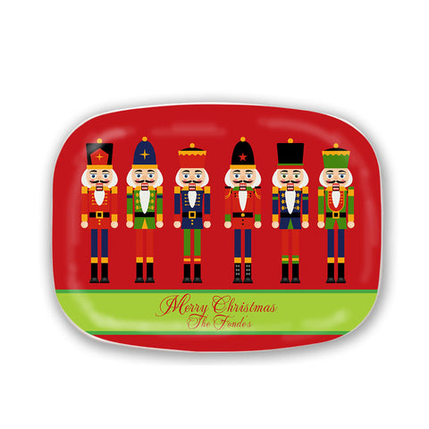 Personalized Nutcracker Melamine Platter